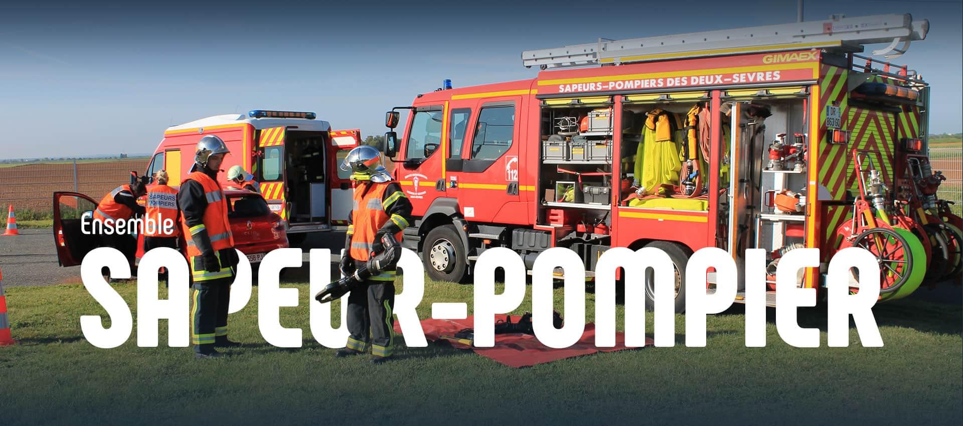 Sapeurs pompiers SDIS 79